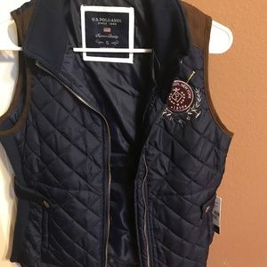 US Polo Jacket Vest - NEW!